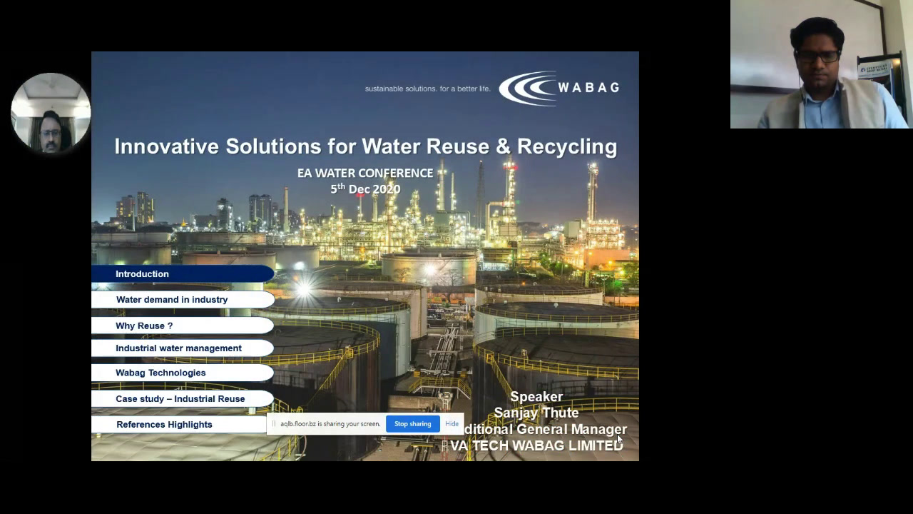 Innovative Solutions for Water Reuse...